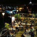 Aussicht von der Dachterrasse / Restaurant