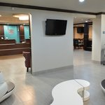 Lobby Seating & Flat Screen TV