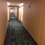 Hotel 3rd floor hallway