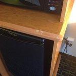 Fridge,microwave room 330