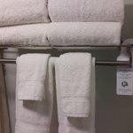 Towel reuse signage/ Green effort