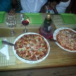 Wonderful dining at Perrys Pizza... Check it out y'all