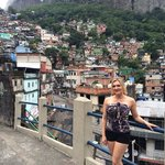 Great view over the Favela Rocinha.