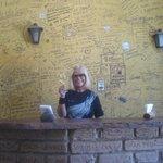 les graffitis sur tous les murs