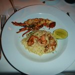 Lobster and shrimp risotto.