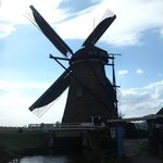 The only windmill the public can enter during the hole opening times. At the front you can see t