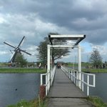 The bridge to the windmill.