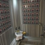 Turkish bath in room