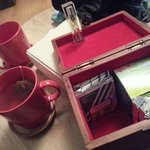 Tea box with 3 min Timer!