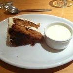 Dessert - carrot cake