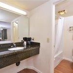 Granite vanity sinks