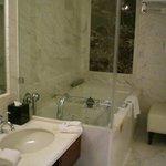 Bathroom sink/tub area