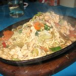 Bakmi hotplate - finished at your table