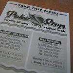 The take-out menu.