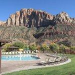 Pool area at La Quinta