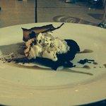 Dessert: home made chocolate cake