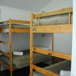 Bunk beds in one of the bedrooms