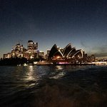 View from the Ferry pulling out of Circular Quay
