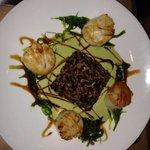 wasabi scallops