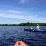 In open waters