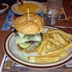 Double cheeseburger.