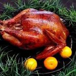 smoked holiday turkey