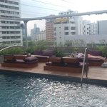 rooftop bar/pool/restaurant