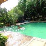 Beautiful swim
