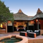 Bedroom at Safari Lodge