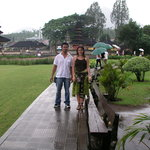 At Ulun Danu Temple
