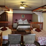 One very specious bedroom with an outstanding bed!