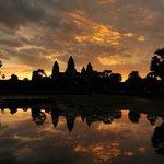 Lever de soleil sur Anglor Wat