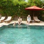 Great pool at Villa Ratih Taman Sari