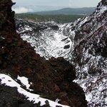 look to a caldera
