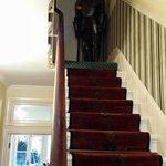 Una de sus escaleras.