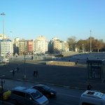 Taksim square from hotel