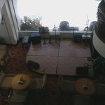 Music floor for live band