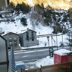 vista desde la habitacion del hotel