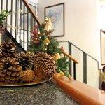 Decoración navideña - Recepción