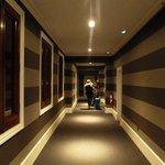 Hallway to the room