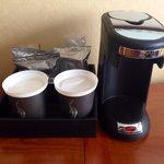 Room 1126 coffee maker
