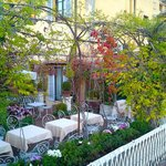 Rooftop garden…a great retreat at day's end.