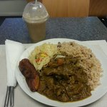 Mutton curry and a Gunness punch