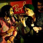 sufi night...harshdeep kaur with 'nasya' band....