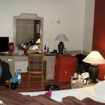 Quarto do Hotel (vista pacial)