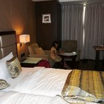 Deluxe room at Krios