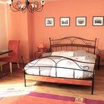 Bedroom of the Deluxe Room