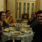 Indian family dinner