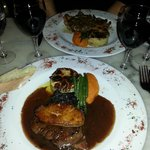 Filet de boeuf Madere Rossini