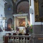Alar mayor dentro de la catedral